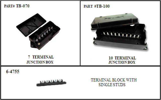 del mar wire   products wholesale automotive and 12 Volt Junction Block Electrical Wiring Junction Box